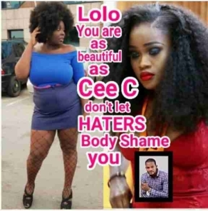 """""""Lolo You Are As Pretty As Cee-c, Don't Let Haters Body-Shame You"""" – Uche Maduagwu"""